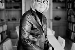 Black and White Corporate Portraits of Landscape Architect Diana Balmori Artist Landscape Designer Diana Balmori Profile Business Headshots CEO Portraits NYC