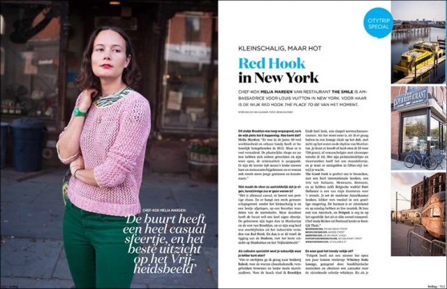 Red Hook Travel Feature, Feeling Magazine