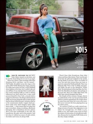 New York Magazine The Cut NYC Fashion History Model by Classic Cadillac Brooklyn