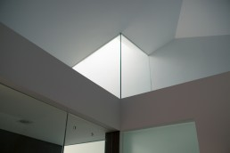 Architectural Photography of Sun Light in Bathroom at Passive House Park Slope NYC