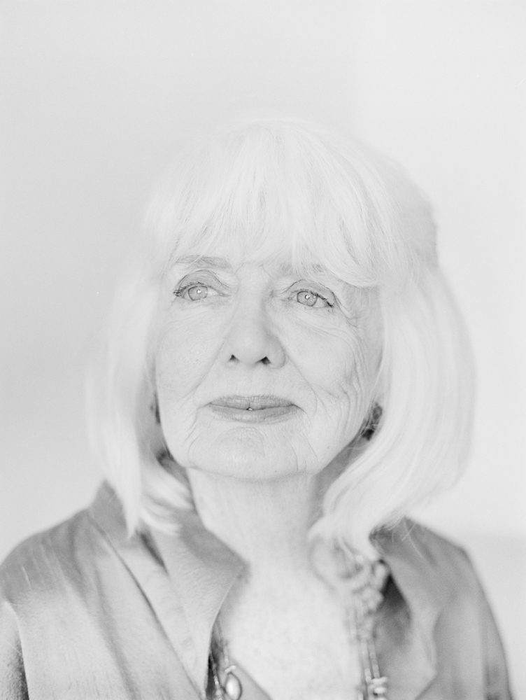 Black and White Business Headshots of Landscape Designer Elizabeth Barlow Rogers