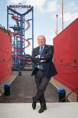 Business Portraits of Coney Island Luna Park Developer & CEO Alberto Zamperla NYC