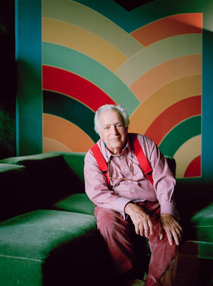 Photo of Colorful, Avant-Garde Furniture Designer Vladimir Kagan by Painting NYC