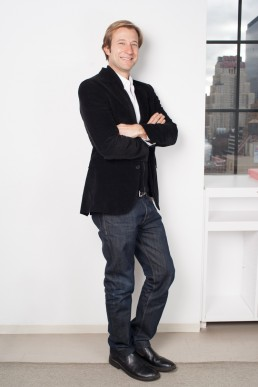 Casual Corporate Headshots - Portrait of Business and Tech Executive in NYC