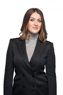 Studio Corporate Headshots Photography - Portrait of Young Female Lawyer in NYC