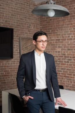 Business Headshots Photography   Modern headshots of fashion startup Inspree app NYC