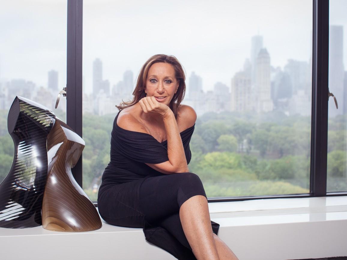 Donna Karan Central Park Skyline Portrait of Celebrity Fashion Designer Donna Karan Photography of Fashion Icon Celebrity Designer Donna Karan