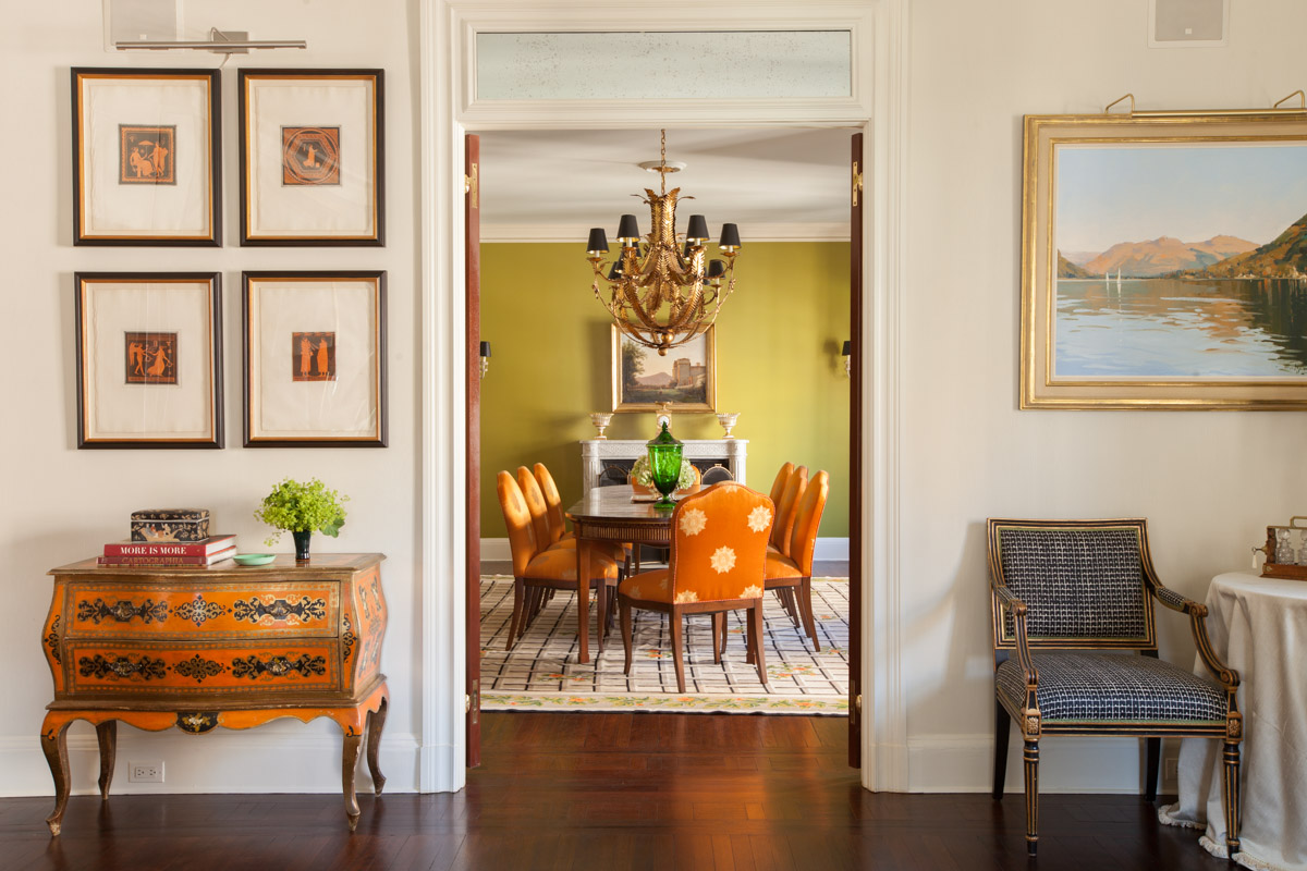 Modern architectural and interior photography Dallas   Study of fifth ave apartment with dining room