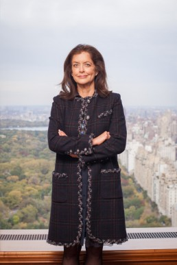 Business Portraits of Debra Black, Wife of Billionaire Hedge Fund Founder Leon Black