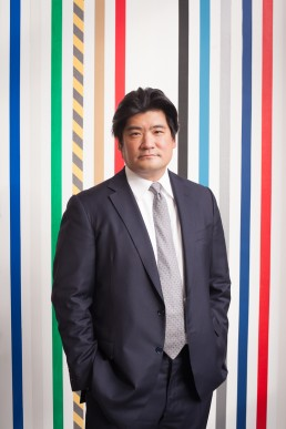 Creative Corporate Headshots - Portrait of Chinese Businessman and Art Collector in NYC