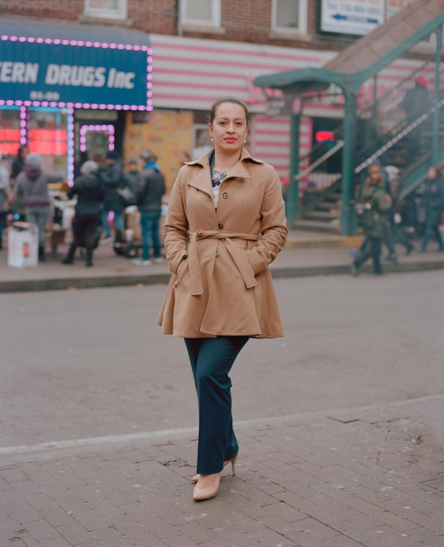Portrait of Queens Dreamer Catalina Cruz for New York Magazine NYC