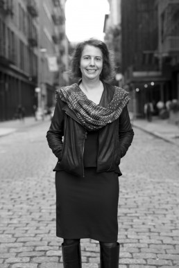 Portrait of Lawyer Rachel Geman for Women Whistleblowers in Soho NYC