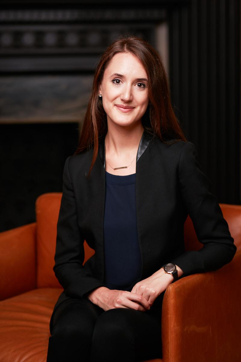 Stunning finance headshots of writer for EQ Derivatives NYC