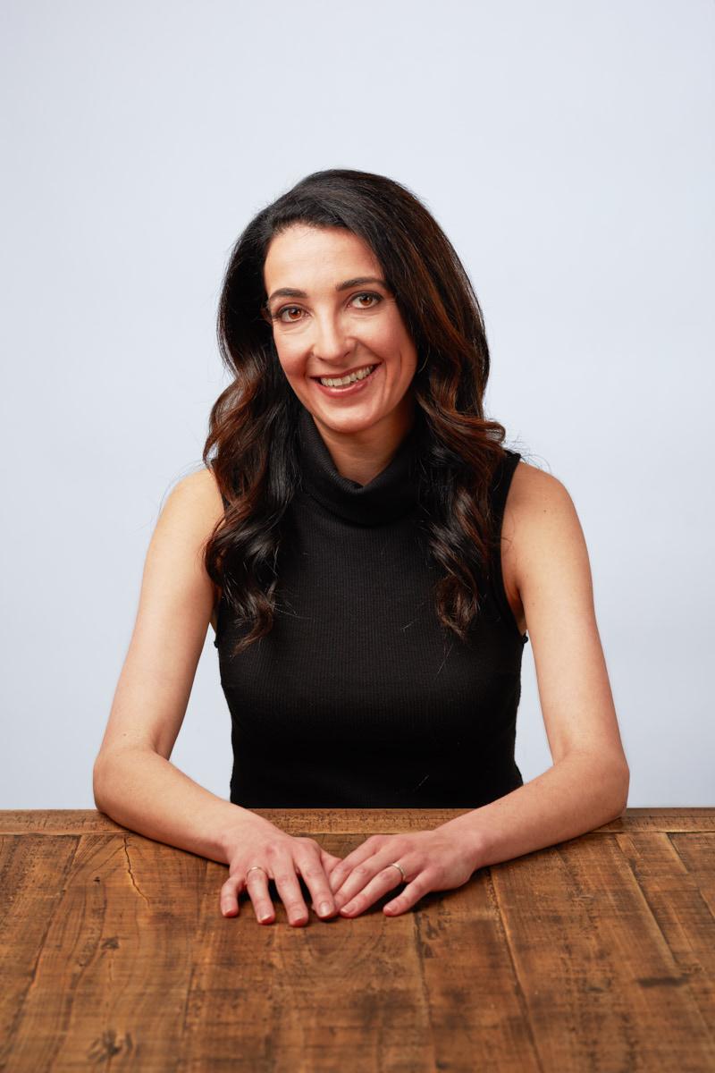 Corporate Headshots NYC   Creative Headshots of Female Marketing Executive New York
