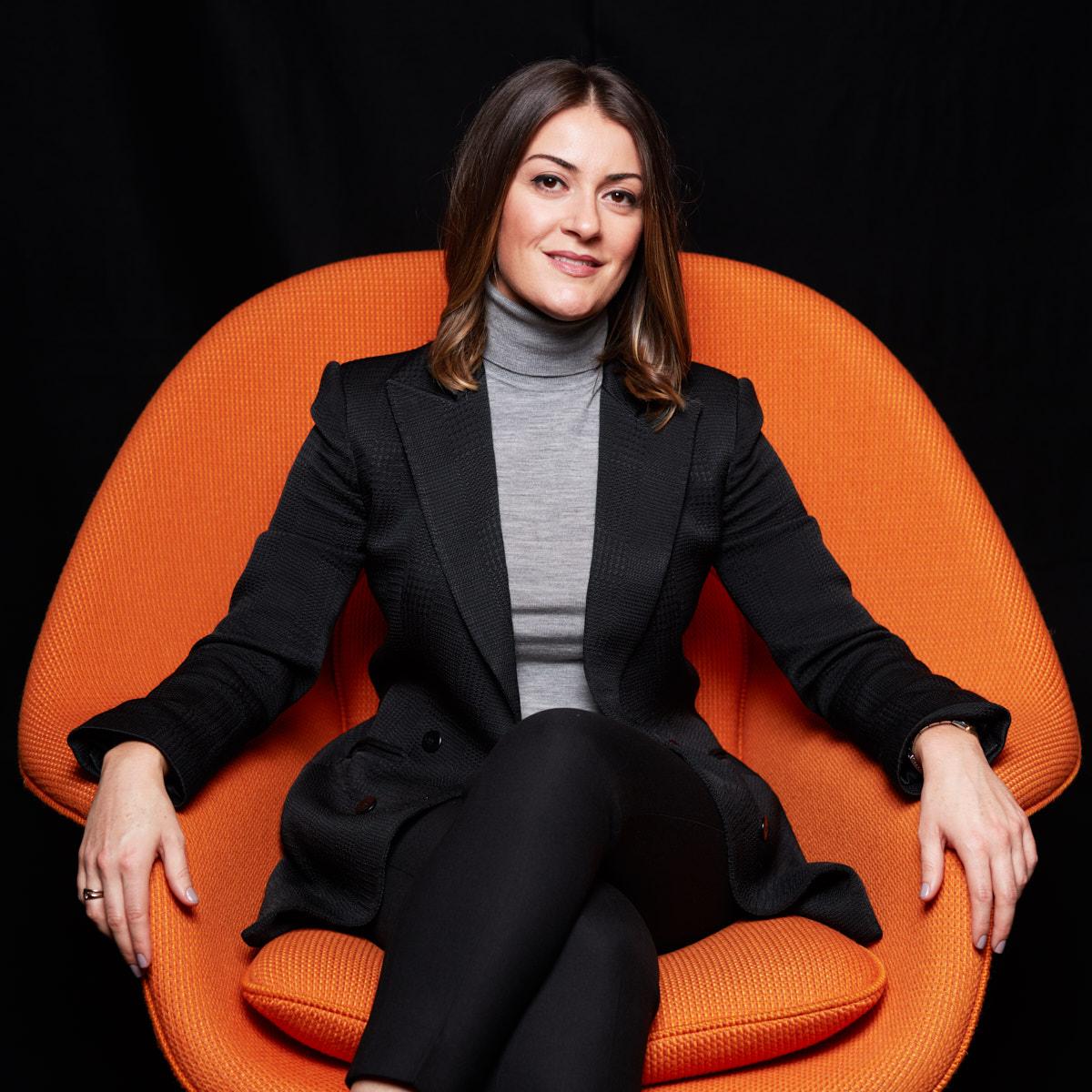 Corporate Headshots NYC   Creative Professional Headshots of Female Lawyer New York