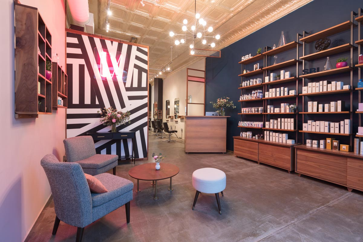Modern Architecture Photography Dallas   Interiors of Soon Beauty Lab Entrance