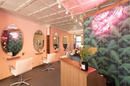 Architecture Photographer Dallas | Interiors of Soon Beauty Lab Reception