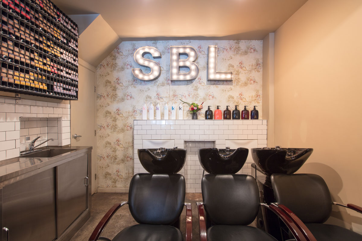 Architecture Photographer Dallas, Texas   Interiors of Soon Beauty Lab Washing Chairs