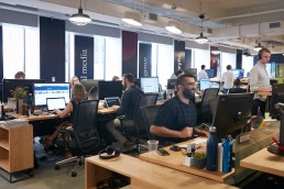 Interios of People Working at Midtown NYC Office