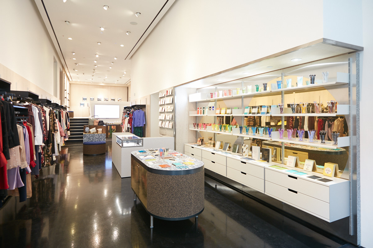Interior architecture photography of Soho retail store NYC