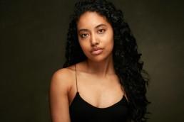Actors Headshots NYC   Professional Headshot Photography of Young Actress in New York Studio