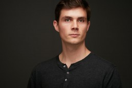 Creative NYC Headshots of Young Businessman for NYU New York University