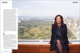 Dallas, Texas Editorial Photographer - Portrait of Businesswoman Debra Black Central Park View