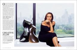 Dallas, Texas Editorial Photographer - Portrait of Fashion Designer Donna Karen Central Park NYC 1