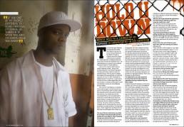 Dallas Editorial Photographer - Portrait of Rapper Pappoose XXL Magazine