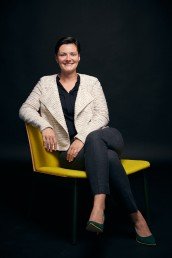 Casual Women Headshots of Dallas Texas CEO & Businesswoman in Studio