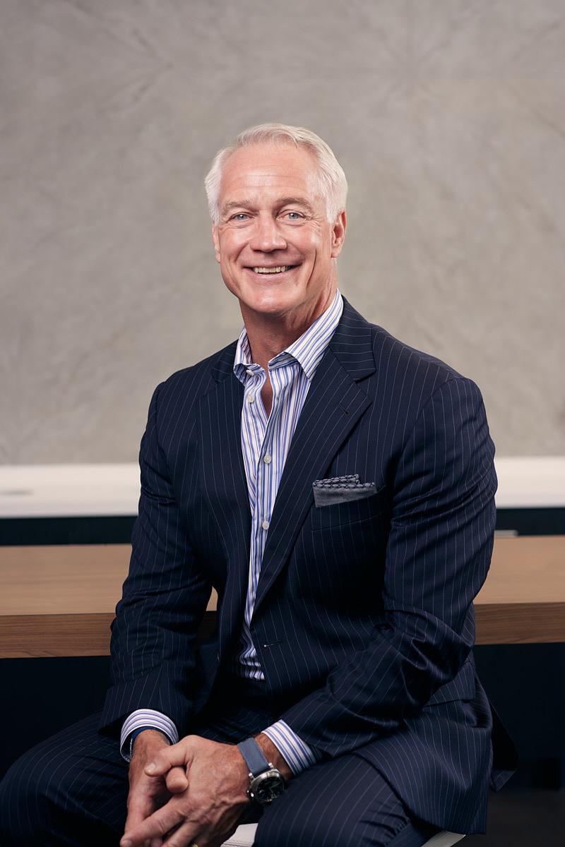 Dallas Business Headshots | Portrait of Former Football Fullback Daryl