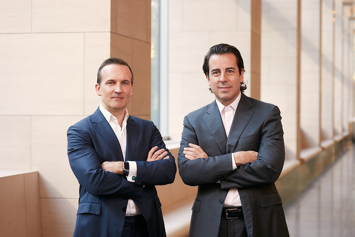 Modern Business Portraits of Goldman Sachs Partners at Company Headquarters NYC