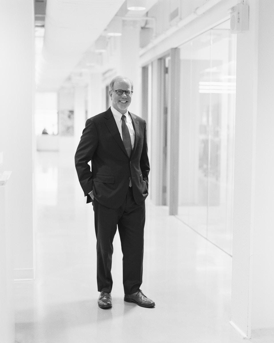 Black & White Executive Portrait for Real Estate Investment Company   Dallas Headshot Photographer
